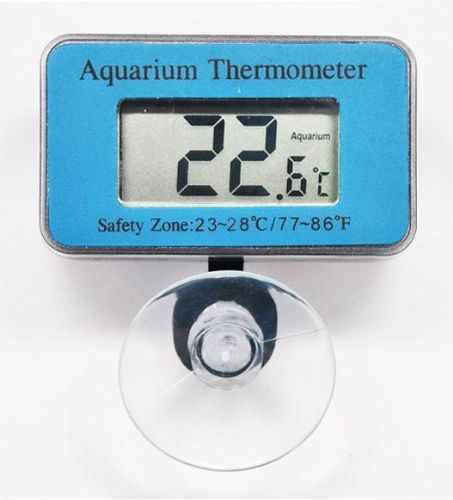 T Meter Digital Aquarium Thermometer Blue